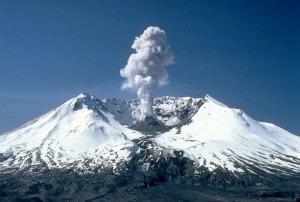 Mt. Saint Helens in 1982