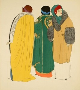 Image from a 1908 Poiret catalogue
