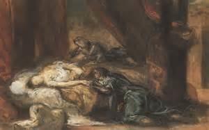 The Death of Desdemona by Eugène Delacroix