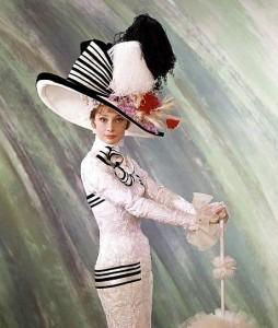 Audrey Hepburn as Eliza Doolittle in the film My Fair Lady