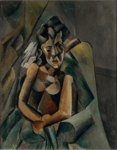 1909, Femme assise (Sitzende Frau) (Staatliche Museen, Neue Nationalgalerie, Berlin)