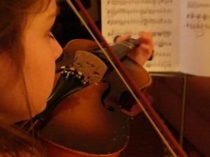 Practicing-Violin