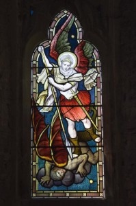St Michael and demon