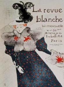 Henri de Toulouse-Lautrec, La Revue Blanche, 1895