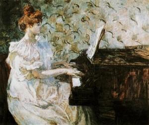Henri de Toulouse-Lautrec, Misia, 1887