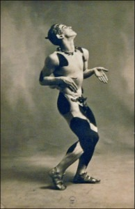 Njinsky in the Afternoon of a Faun