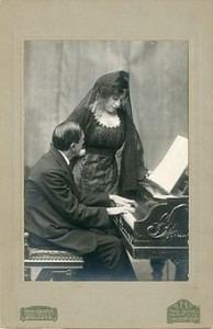 Enrique Granados and Clotilde Godó Pelegrí
