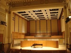 San Francisco Conservatory concert hall