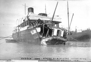 SS Sussez Torpedo Incident