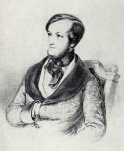 Richard Wagner, ca. 1840