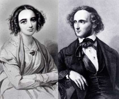 Muses and Musings <br/>Sisterly Muse : Felix and Fanny Mendelssohn