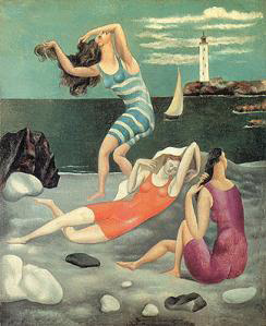 Chanel's Bathing Suits in Picasso's 'Women Bathing', 1918