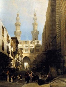 Roberts: A View of Cairo (1840)