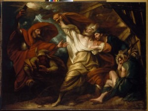 King Lear by Benjamin West (American, 1738–1820)