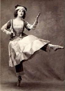 Tamara Karsavina as The Ballerina