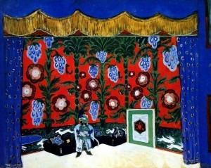 The Moor's Room by Alexandre Benois