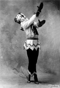 Vaslav Nijinsky as Petrushka, 1911