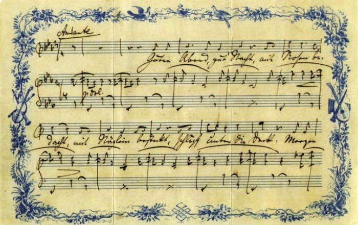 Muses and Musings <br/>Sing me to sleep, Honey!<br/> Johannes Brahms and Bertha Porubsky