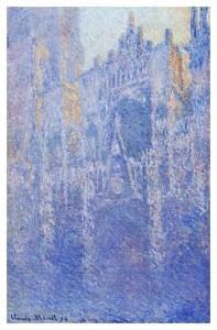 Claude Monet - Rouen Cathedral, Facade (Morning effect)