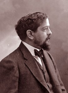 Claude Debussy, photograph by Nadar (1905)