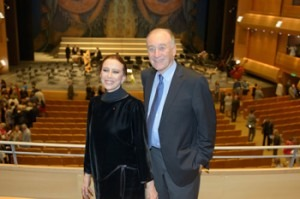 Shchedrin and Plietskaya on stage at the Mariinsky