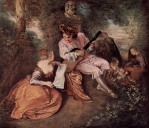 Watteau: The Scale of Love