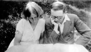 Olivier Messiaen and Claire Delbos