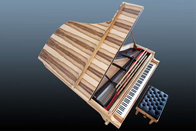 Ancient Sounding Timbers <br/>Pianos by Stuart & Sons
