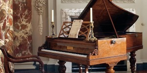 Chopin's 'own' grand piano at the Cobbe CollectionCredit: http://www.cobbecollection.co.uk/