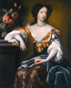 Mary of Modena by Simon Pietersz Vereist (1680)