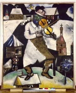 Marc Chagall, The Fiddler, 1912-1913. Collection Stedelijk Museum Amsterdam