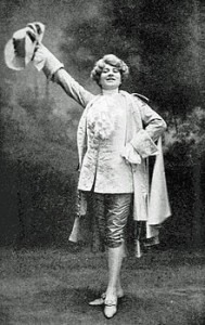 Mary Garden in the title role of Chérubin, 1905
