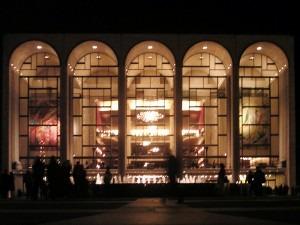 Façade of the Metropolitan Opera House