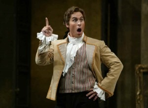 Kyle Kettelson as Figaro, New York City Opera, Photo by Carola Rosegg