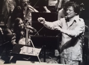 Neville Marriner and Janet Horvath