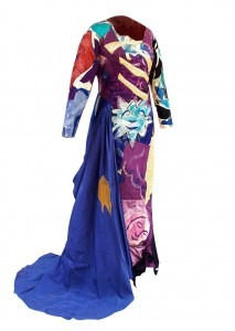Pamina's gown