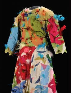 Papagena's gown, with feathers