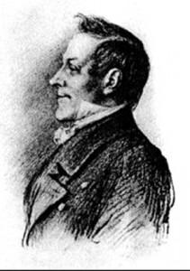 Johann Mayrhofer by Mortiz von Schwind