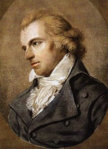 Friedrich Schiller in 1793 or 1794 by Ludovike Simanowiz