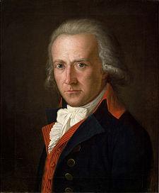 Friedrich von Matthisson (1794) by Ferdinand Hartmann