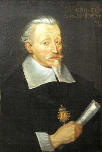 Heinrich Schütz, c. 1650–60, by Christoph Spetner