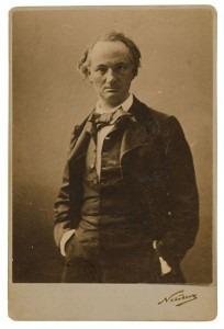 Charles Baudelaire by Nadar (1855)