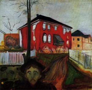 Edvard Munch, The Red Virginia Creeper, 1898-1900