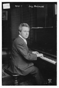 Josef Hofmann in 1916