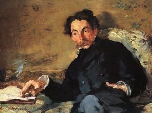 Édouard Manet, Portrait of Stéphane Mallarmé (1876)