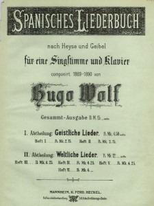 Cover of Spanisches Liederbuch