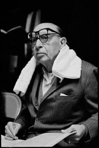 Stravinsky in 1966, photographed by David Hume Kennerly