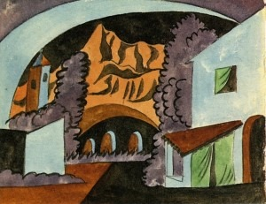 Set design by Picasso