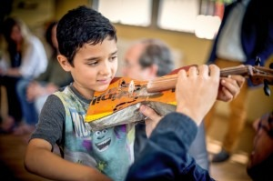 The kids of Paraguay's Cateura Orchestra play on instruments recycled out of landfill