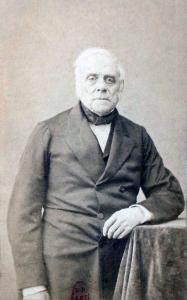 Auber, by Nadar (ca. 1860)